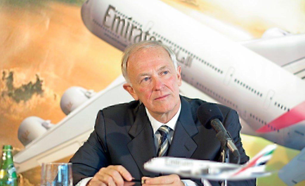 CEO of Emirates Tim Clark