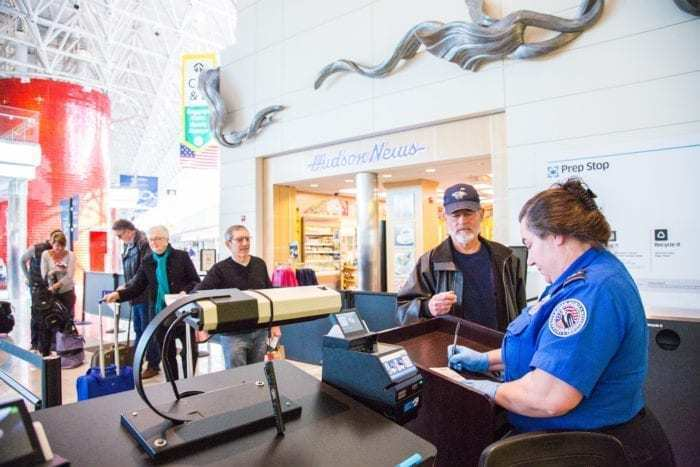 Unpaid TSA