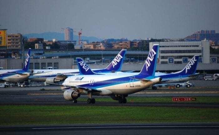 ANA Aircraft at ITM