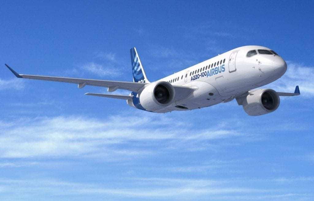 Airbus A220-100
