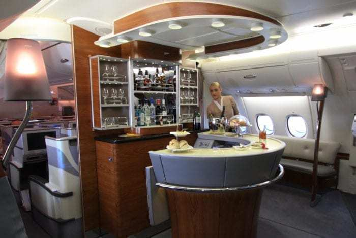 Bar on a plane