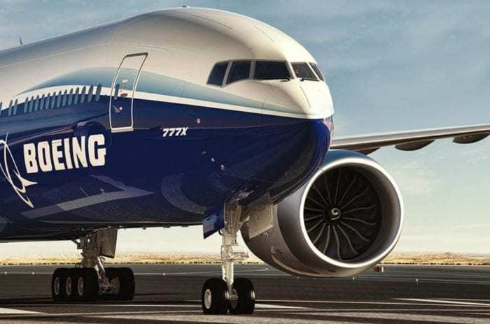 Boeing 777X Close-Up