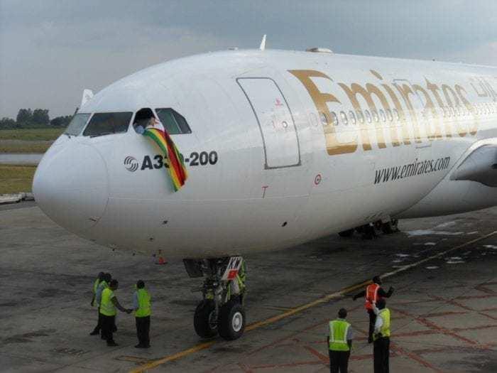 Emirates in Zimbabwe