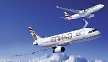 Etihad and Emirates