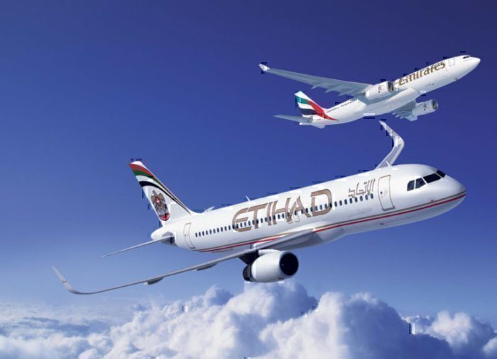 Etihad and Emirates