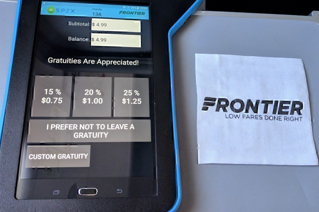 Frontier-tipping