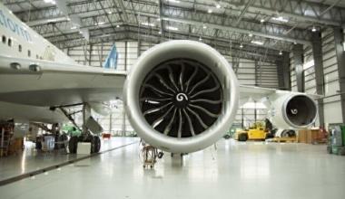 GE9X on Boeing 747