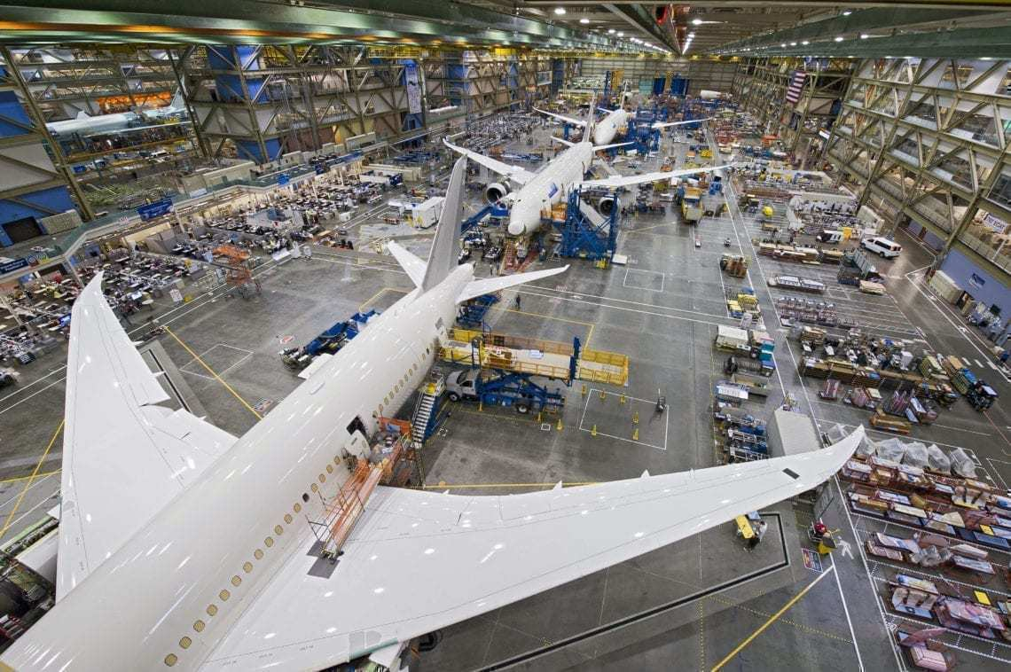 Boeing Set To Cut 787 Dreamliner Production Rate To 12 Per Month
