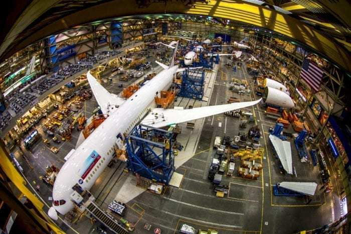 Boeing 787 assembly Everett