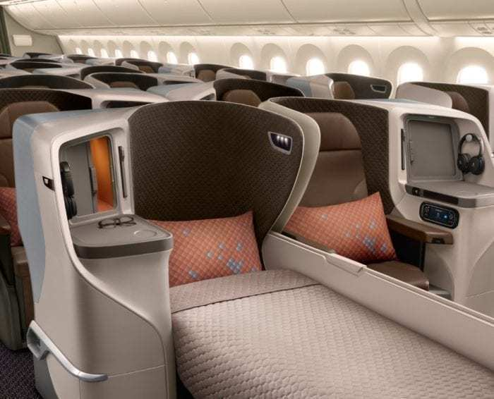 SIA Business Class 787-10