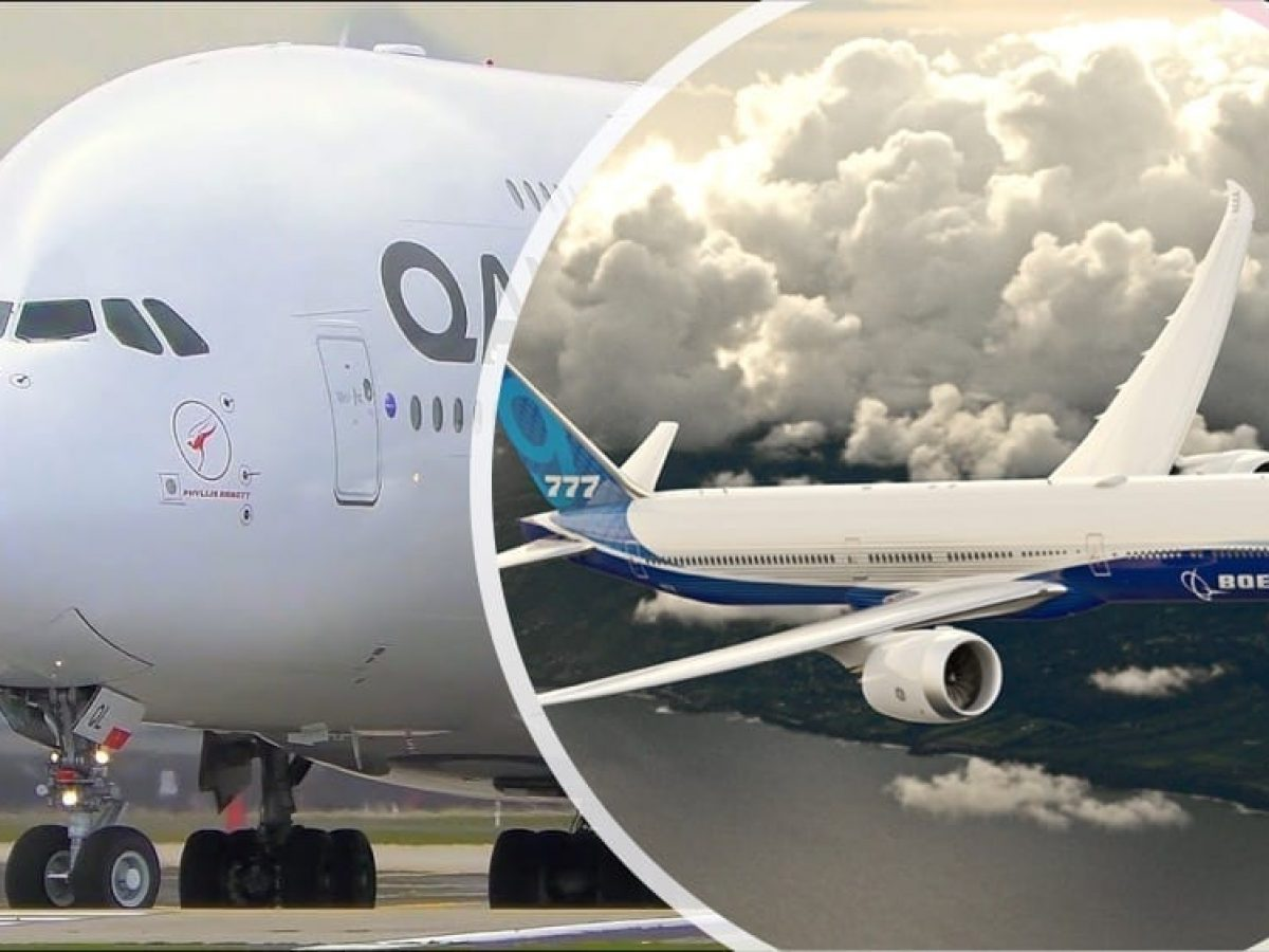 The Boeing 777X vs The Airbus A380 What Plane Wins