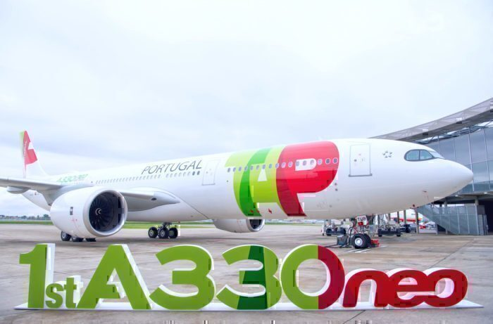 TAP air first A330neo