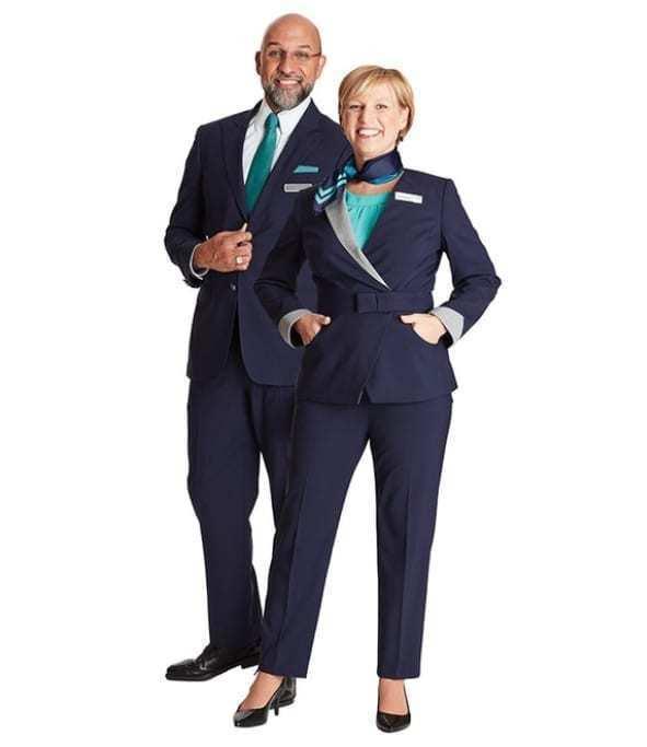United Customer Service new uniforms