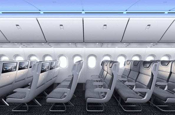 Boeing Releases First 777X Cabin Photos