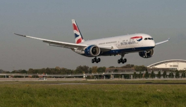 British Airways Cleaning Trial