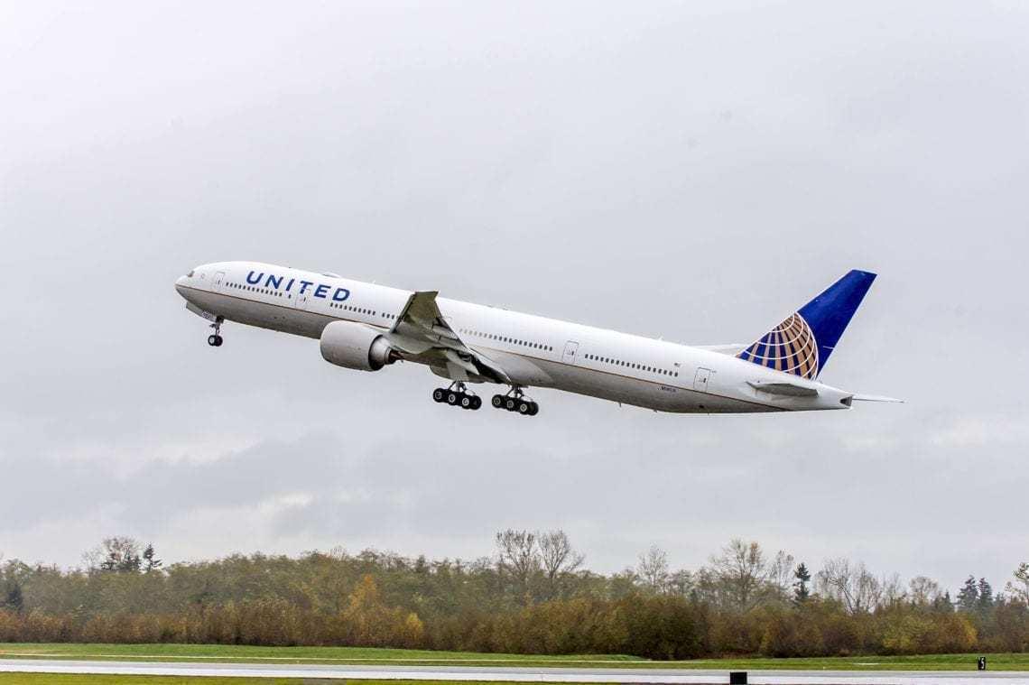 United B777