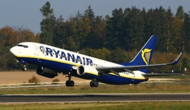 Ryanair B737 Takeoff