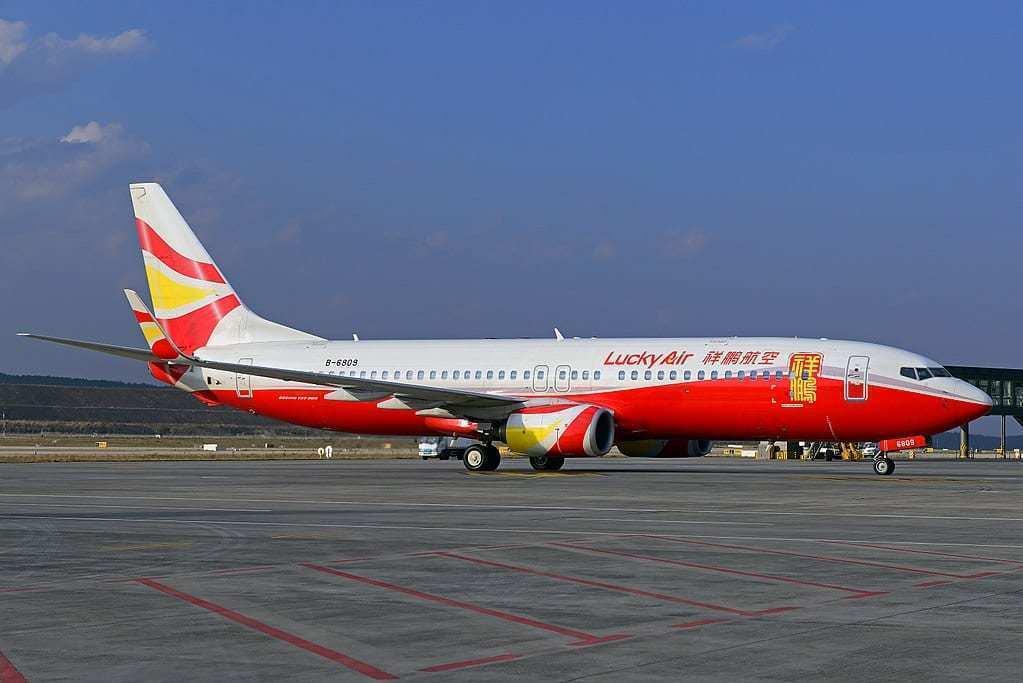 Lucky Air Boeing 737