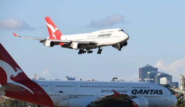 747 and A380