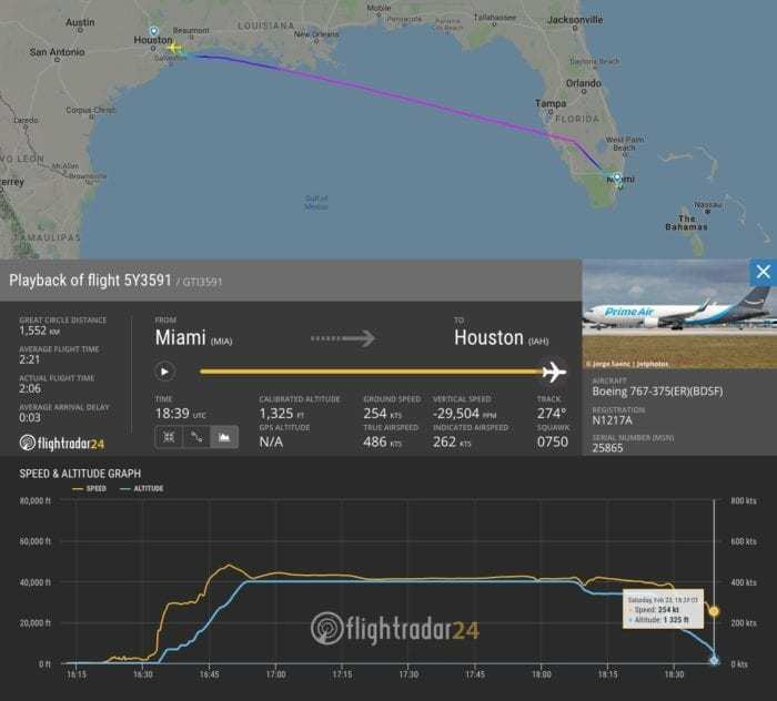 Amazon Boeing 767 Crashes In Texas - Simple Flying