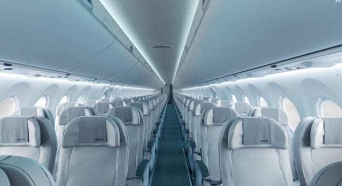 Air Baltic A220 Interior