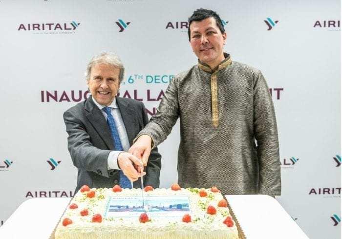 Air Italy Milan-Delhi Inaugural Flight