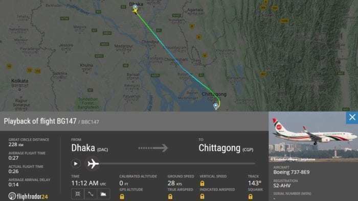 Biman Bangladesh Boeing 737 Suffers Attempted Hijack And Performs ...