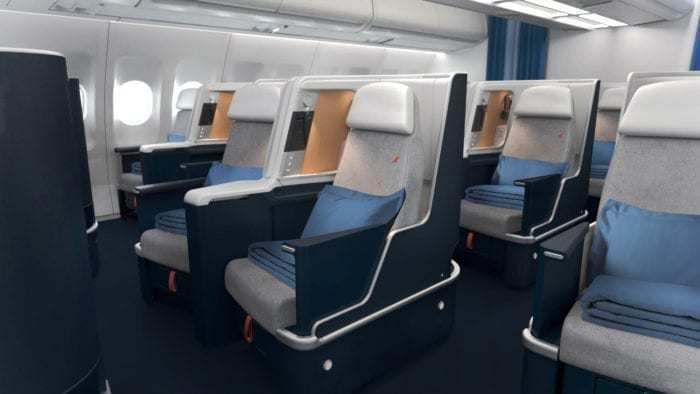 New Air France A330 business class cabin