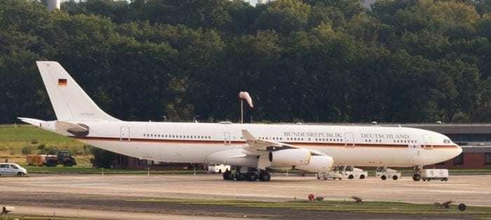 Flugbereitschaft Airbus A340