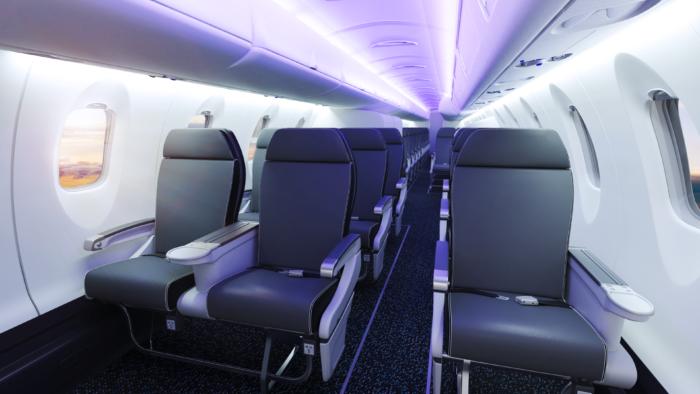 Inside the CRJ550
