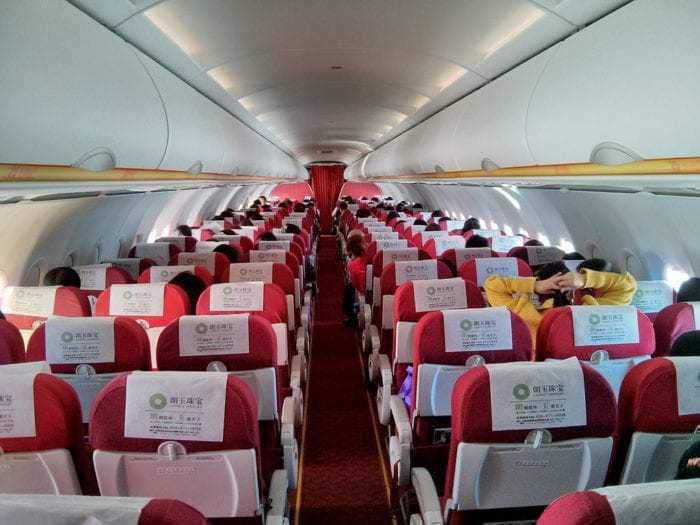 Lucky Air A320 Cabin