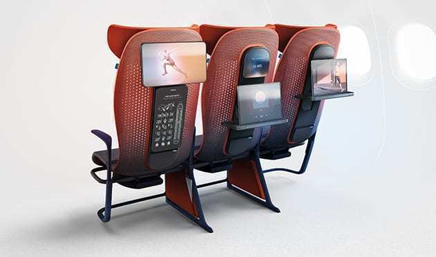 Flying Coach May Get A Lot Better With Smart Seating
