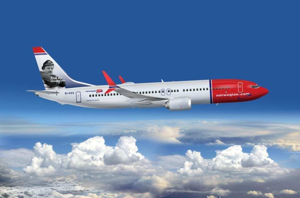 A Norwegian 737