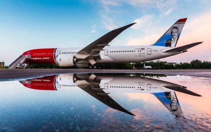 Norwegian Dreamliner