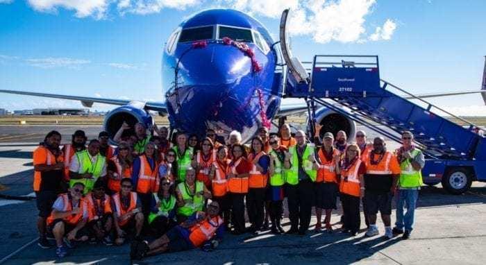 SWA Crew at Hawaii