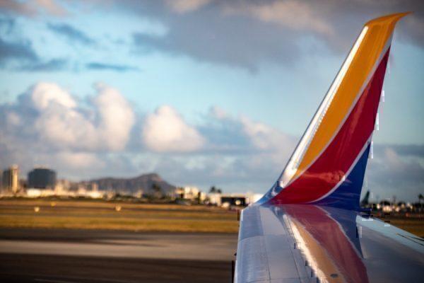 SWA landing in Hawaii