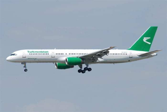 Turkmenistan Airlines have been banned from flying in the EU