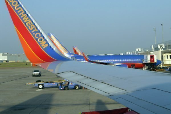 Southwest Airlines airplanes Grounded