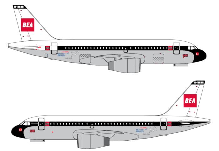 BAE Retro A319