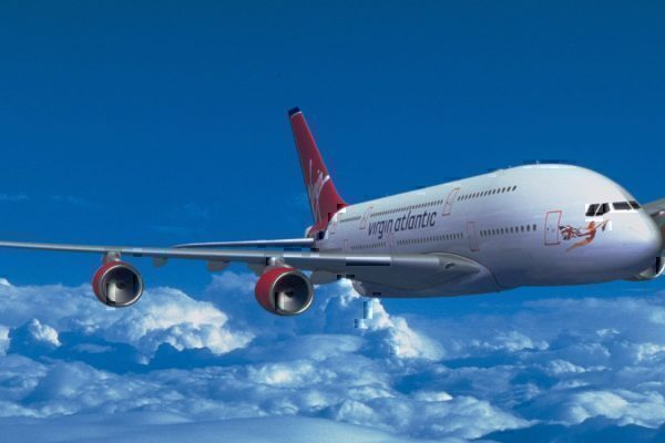 Rendering of a Virgin Atlantic A380