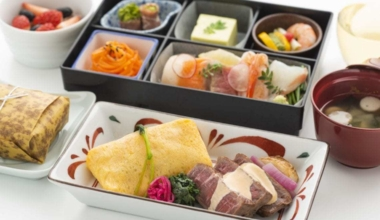 Hawaii Japanese Meal