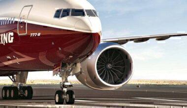 Boeing 777X blown apart