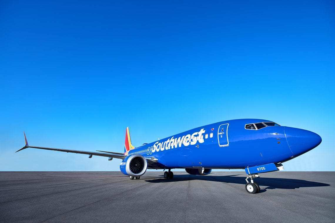 Southwest Boeing 737 MAX 8 aircraft
