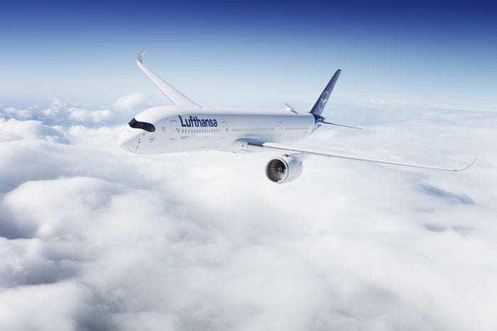 Lufthansa 787 a350 order