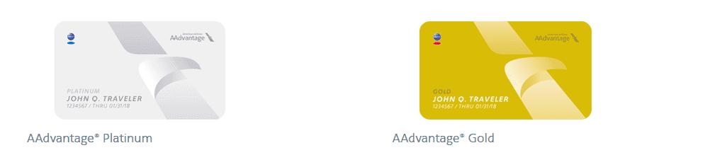 AAdvantage Status levels