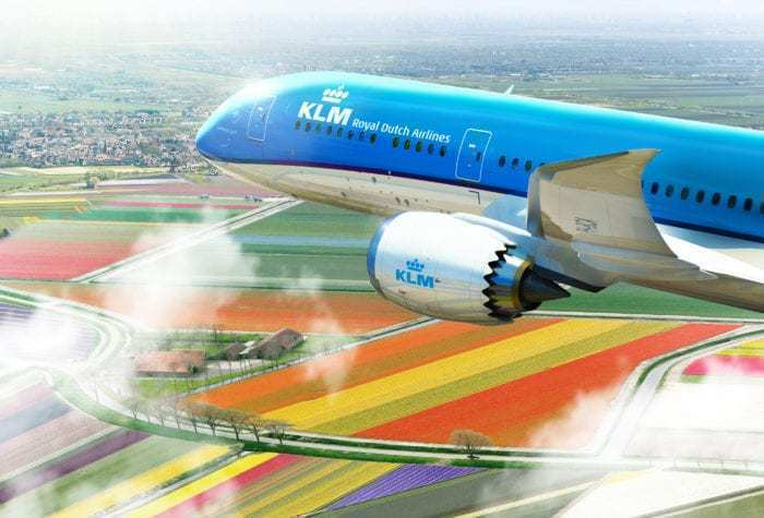 Boing 787 in Netherlands