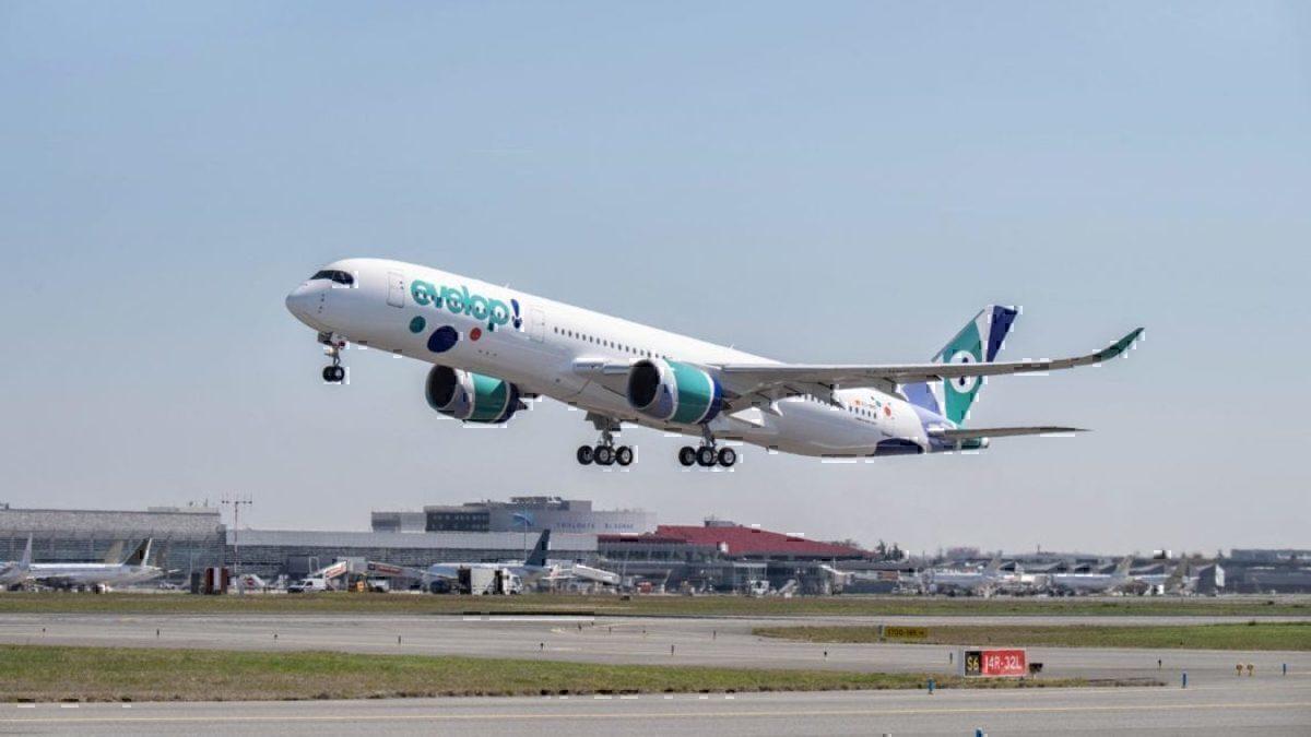 Resultado de imagen para evelop A350-900