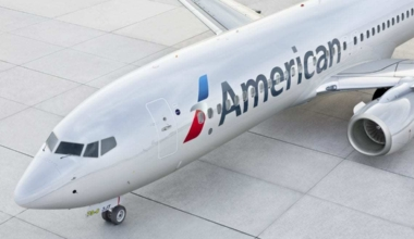 Amercan Airlines 737 aircraft