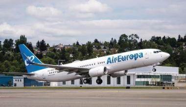 Air Europa Boeing 737 aircraft