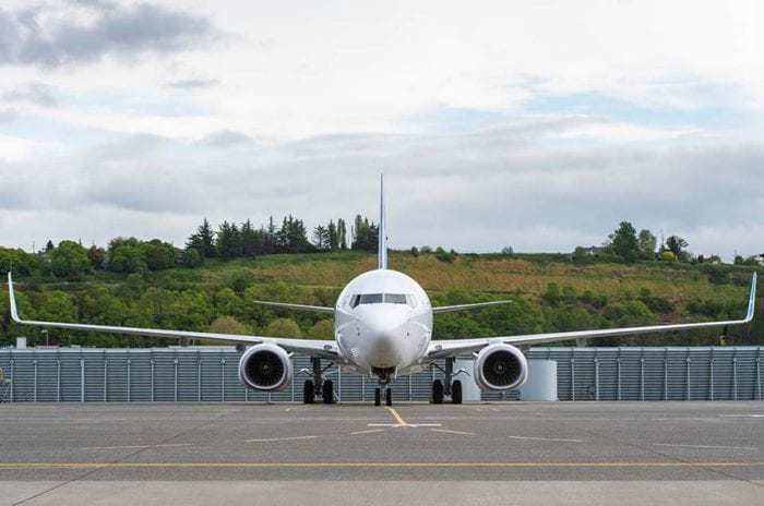 Air Europa aircraft taxiing